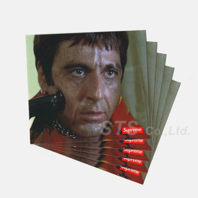 Supreme - Scarface Shower Sticker