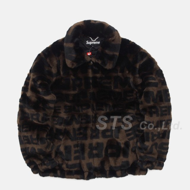 Supreme - Faux Fur Repeater Bomber