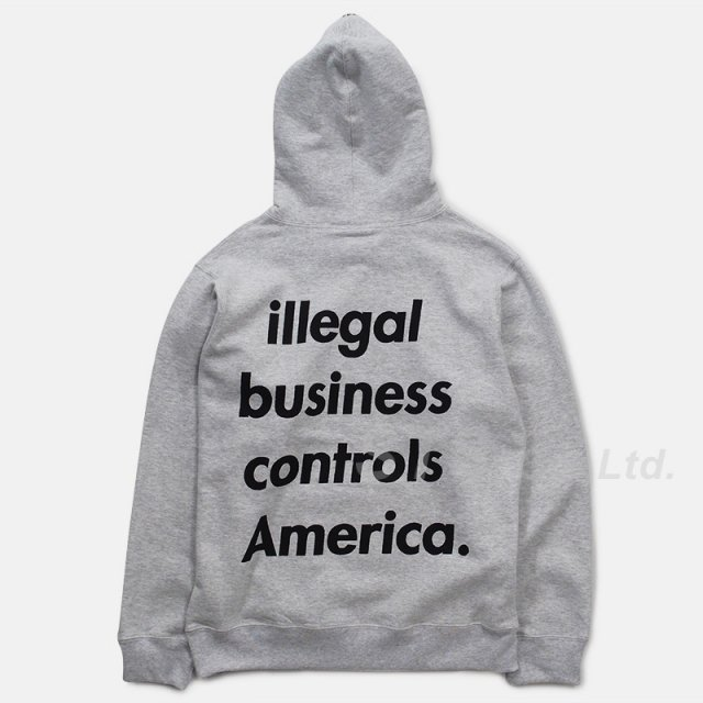 Supreme - Illegal Business Hooded Sweatshirt