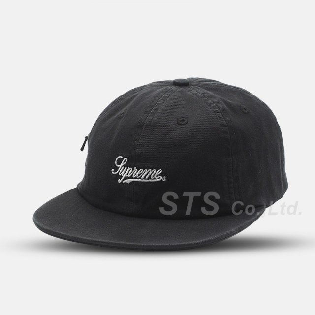 【SALE】Supreme - Side Pocket Script Logo 6-Panel