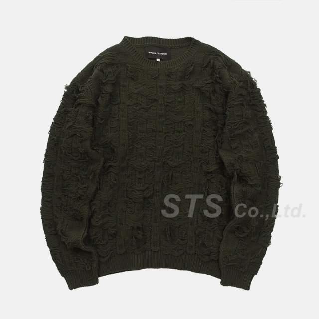 【SALE】Bianca Chandon - Cut Float Jacquard Sweater