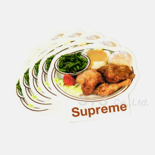 【Dead Stock】Supreme - Chicken Dinner Sticker