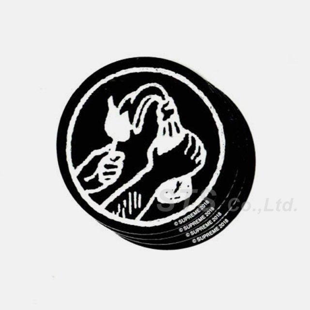 Supreme - Molotov Sticker
