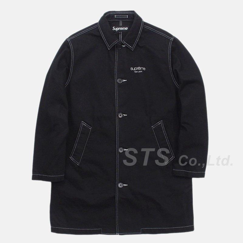 Supreme - Washed Work Trench Coat