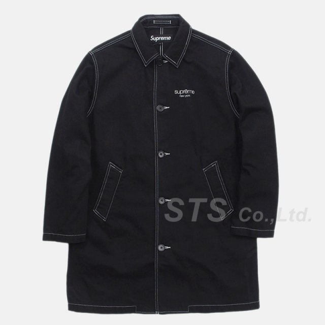 Supreme - Washed Work Trench Coat