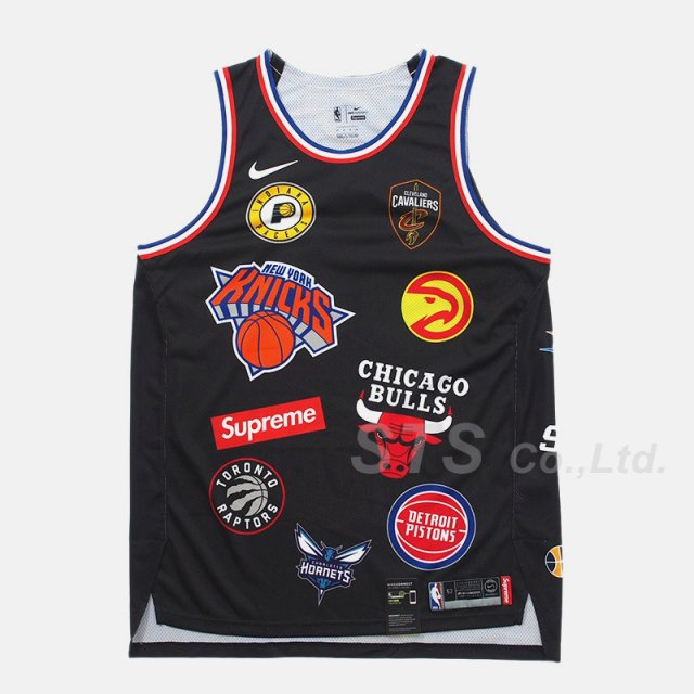 Supreme/Nike/NBA Teams Authentic Jersey