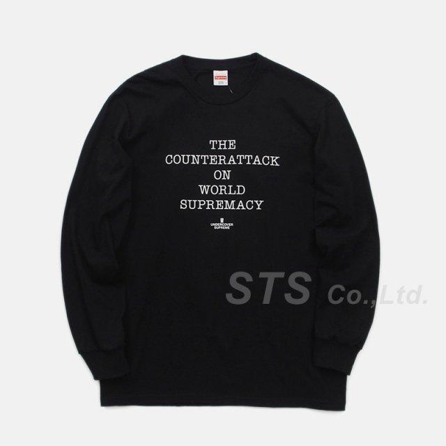 Supreme/UNDERCOVER/Public Enemy Counterattack L/S Tee