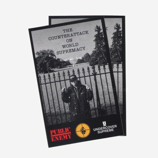 Supreme/Undercover/Public Enemy White House Sticker