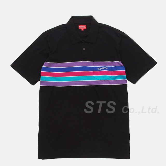 Supreme - Chest Stripes Polo