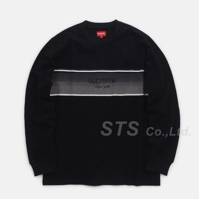 Supreme - Shadow Stripe L/S Top