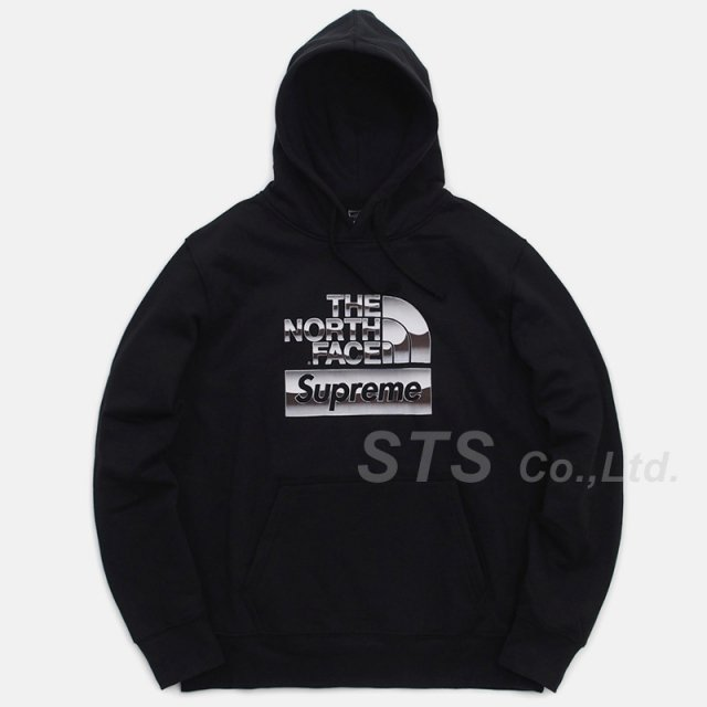Supreme/The North Face Metallic Logo Hooded Sweatshirt