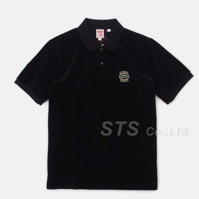Supreme/LACOSTE Velour Polo