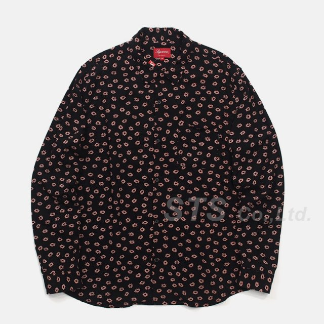 Supreme - Flowers L/S Rayon Shirt