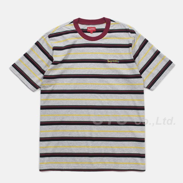 【SALE】Supreme - Heather Stripe Top