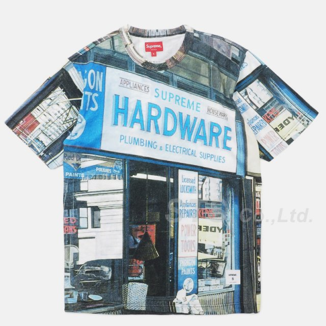 Supreme - Hardware S/S Top
