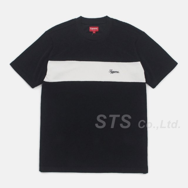 【SALE】Supreme - Chest Stripe Terry Top