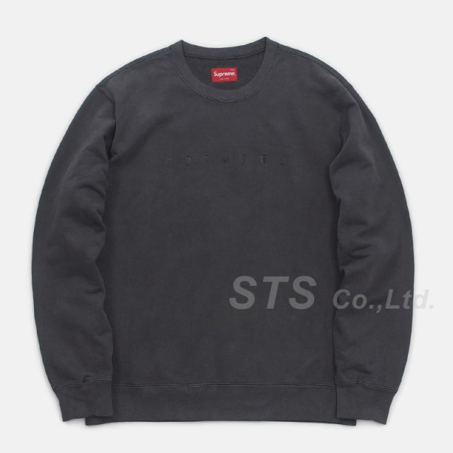 【SALE】Supreme - Overdyed Crewneck Sweatshirt