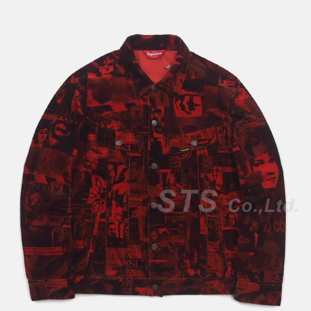 【SALE】Supreme - Vibrations Corduroy Trucker Jacket