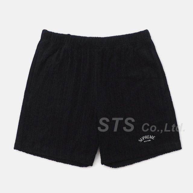 【SALE】Supreme - Cable Knit Terry Short
