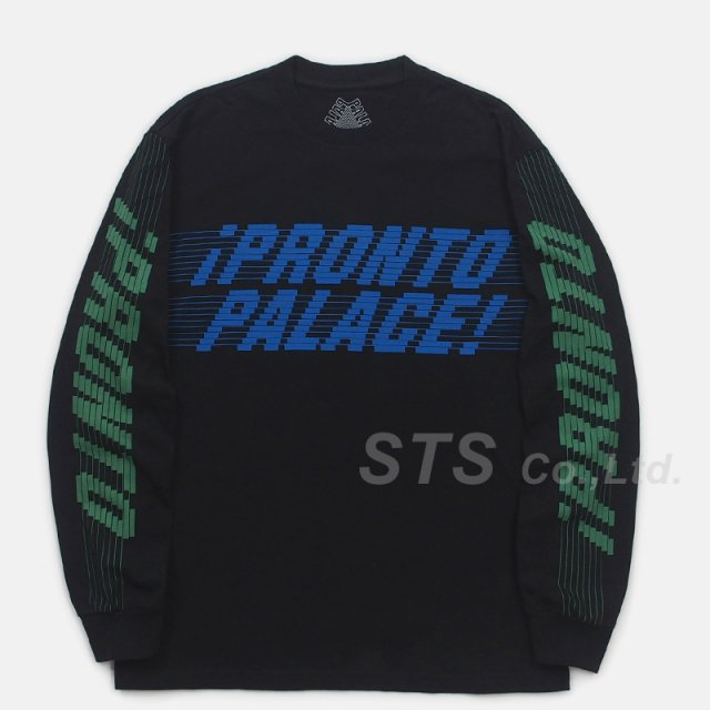 【SALE】Palace Skateboards - Pronto Longsleeve Tee