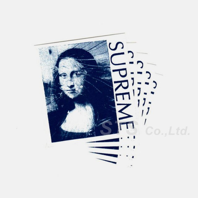 【Dead Stock】Supreme - Mona Lisa Sticker