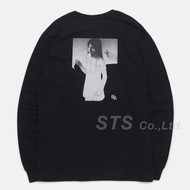 Fucking Awesome - Plane Girl L/S Tee