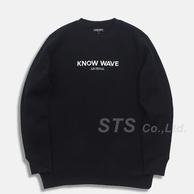 Know Wave - Archival Crewneck