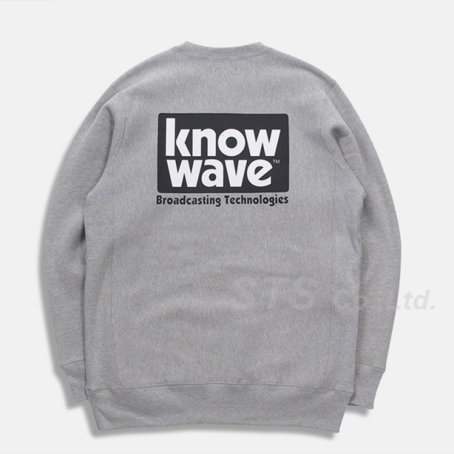 Know Wave - Broadcast Crewneck