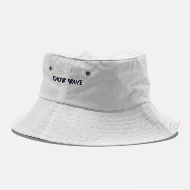 Know Wave - Imprint Two-tone Bucket Hat