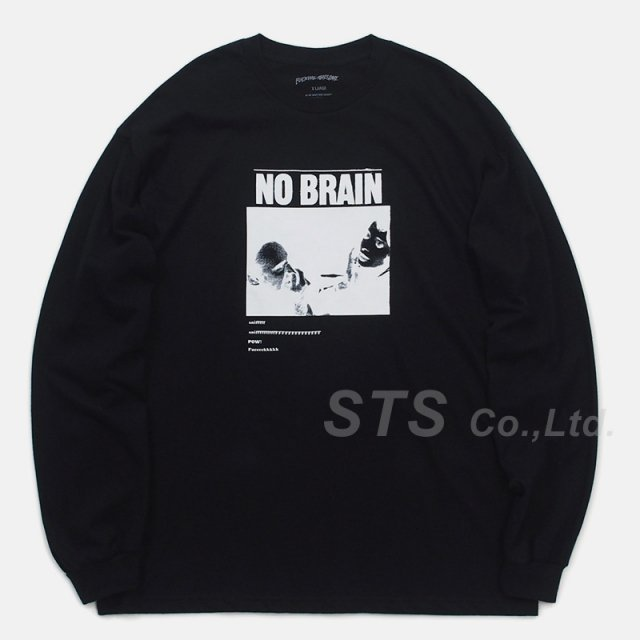 Fucking Awesome - No Brain L/S Tee
