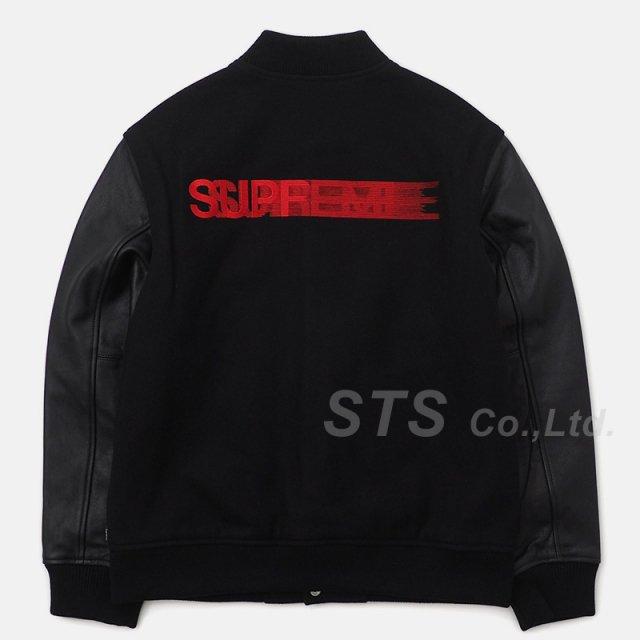 Supreme - Motion Logo Varsity Jacket