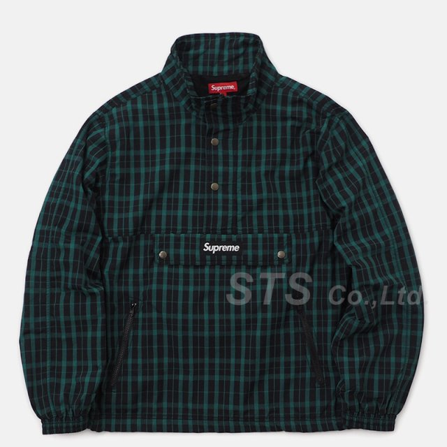 Supreme - Nylon Plaid Pullover