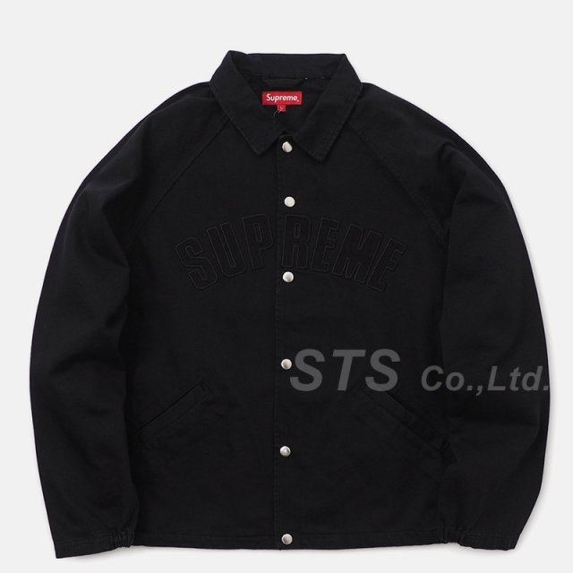 Supreme - Snap Front Twill Jacket