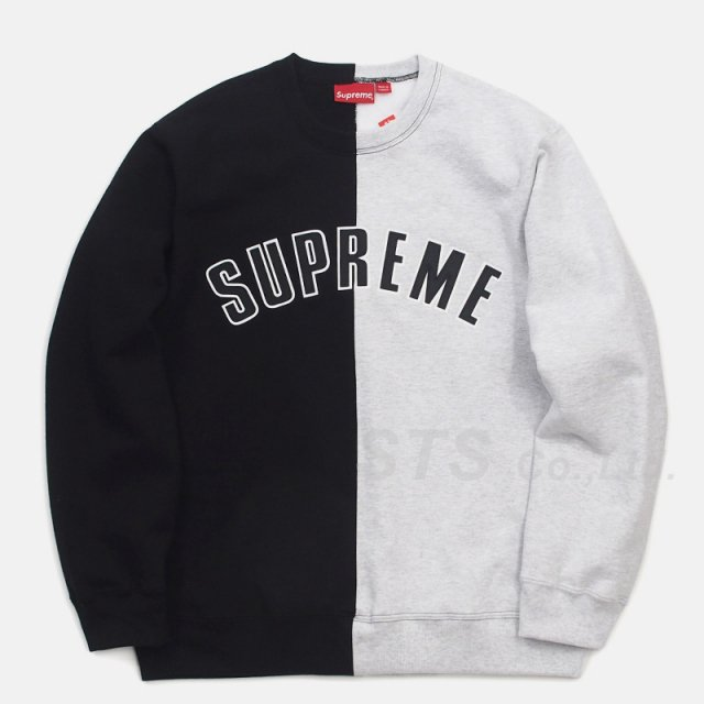 Supreme - Split Crewneck Sweatshirt