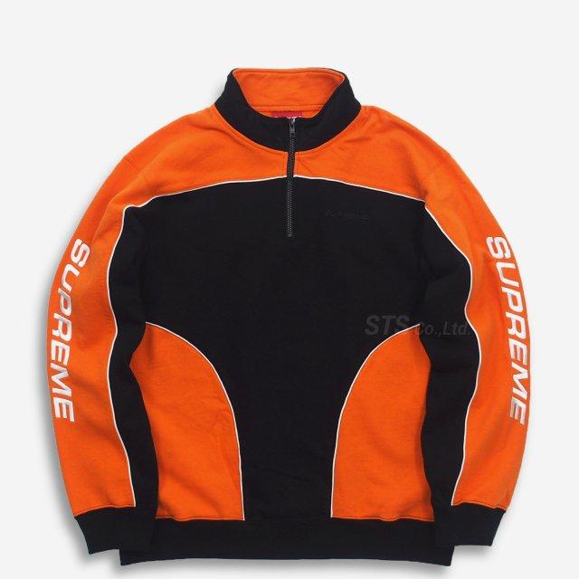 Supreme - Speedway Half Zip Sweatshirt