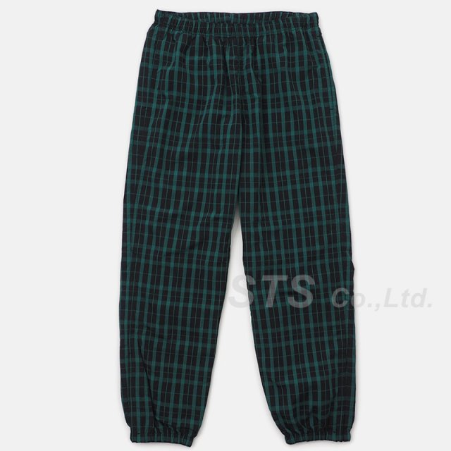 Supreme - Nylon Plaid Track Pant