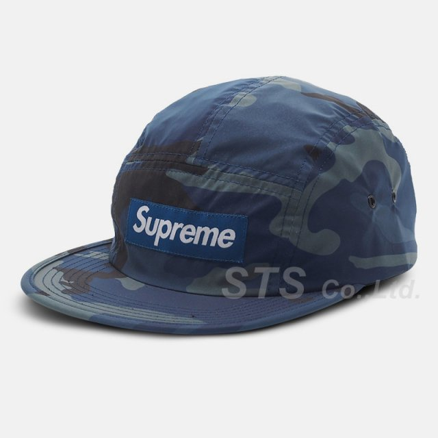Supreme - Reflective Camo Camp Cap