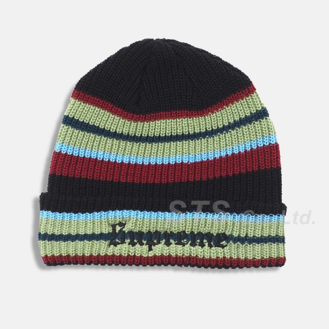 Supreme - Bright Stripe Beanie