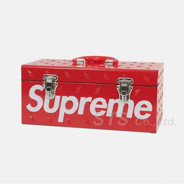 Supreme - Diamond Plate Tool Box