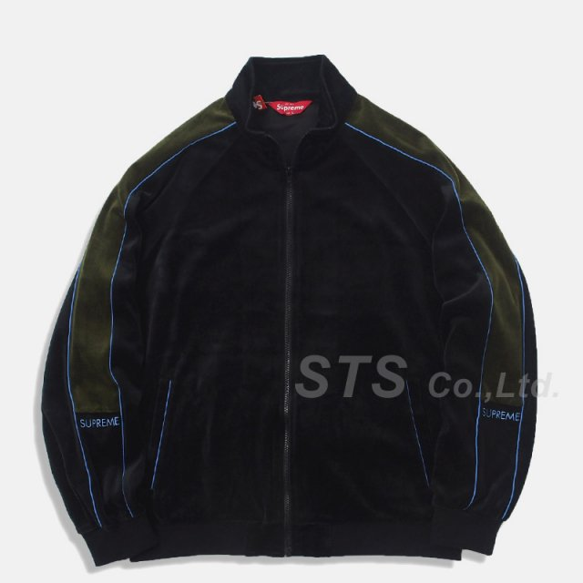 Supreme - Velour Track Jacket