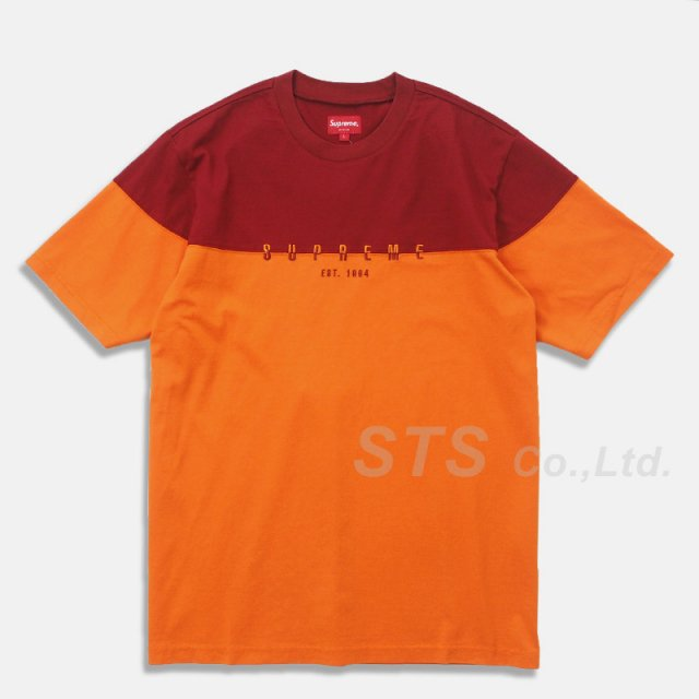Supreme - Split Logo S/S Top