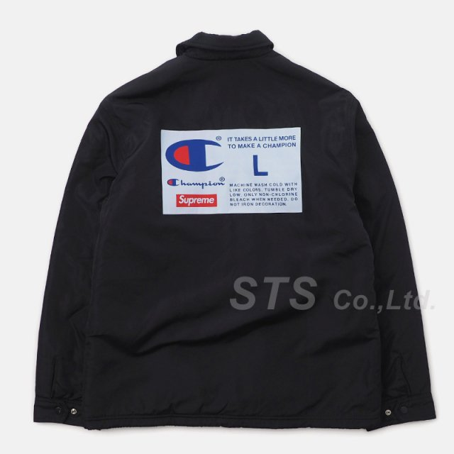 Supreme/Champion Label Coaches Jacket