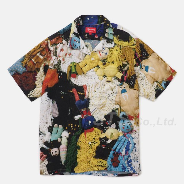 Mike Kelley/Supreme More Love Hours Than Can Ever Be Repaid Rayon Shirt