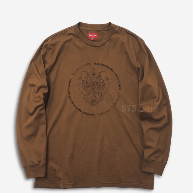 【SALE】Supreme - Crest L/S Top