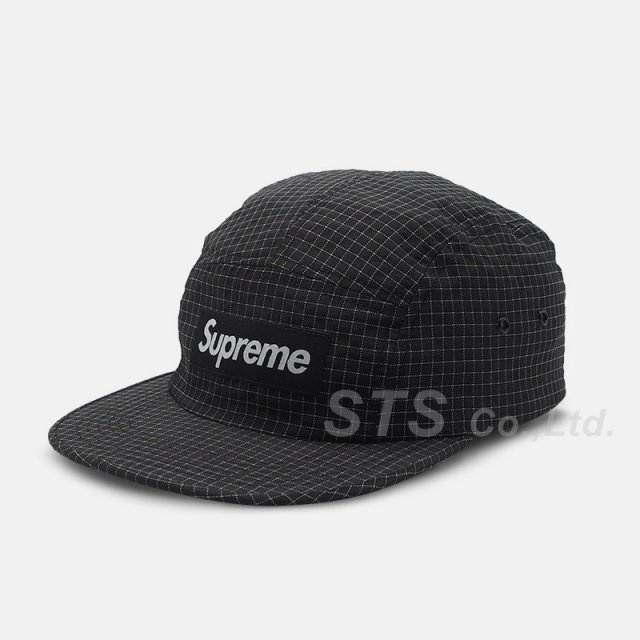 Supreme - Reflective Ripstop Camp Cap