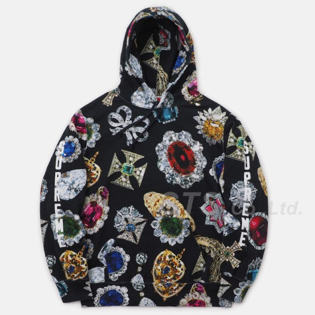 Supreme - Jewels Hooded Sweatshirt
