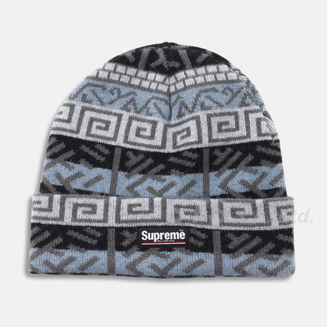 Supreme - Brushed Pattern Beanie