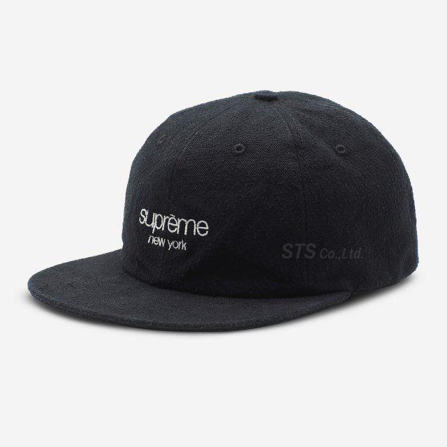Supreme - Napped Canvas Classic Logo 6-Panel