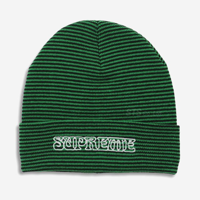 Supreme - Small Stripe Beanie