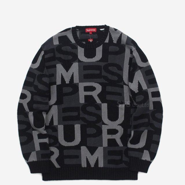 Supreme - Big Letters Sweater